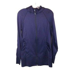Mondetta purple zip up hoodies jacket size S
